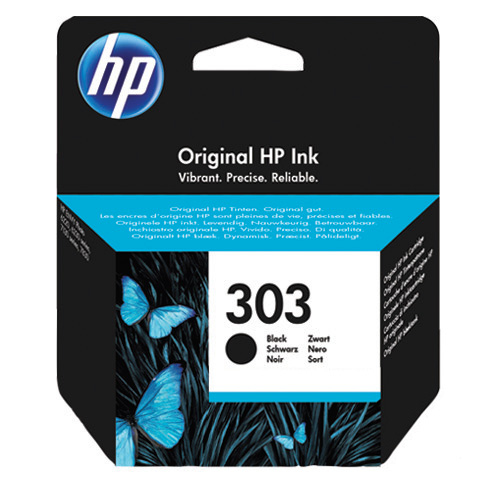 HP 303 Black Original Negro
