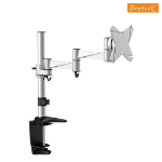 Brateck Single Monitor Flexi Arm Mount Up to 27'