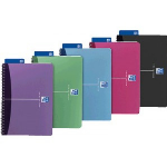 Elba 100101918 writing notebook 90 sheets Blue, Green, Grey, Pink, Purple A4