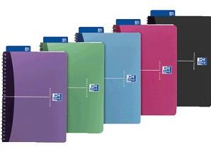 Elba 100101918 writing notebook Blue, Green, Gray, Pink, Purple A4 90 sheets