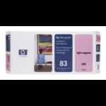 HP 83 Magenta hell DesignJet UV-Druckkopf und Druckkopfreiniger
