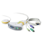 Linksys F1DG102P White KVM switch