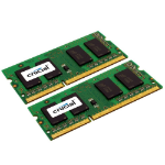 Crucial 16GB (2x8GB) DDR3-1333 CL9 SO-DIMM 16GB DDR3 1333MHz memory module