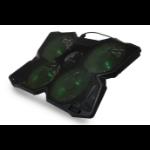 "SureFire Bora notebook cooling pad 43.2 cm (17"") 1200 RPM Black"