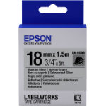 Epson LK-5SBR labelprinter-tape