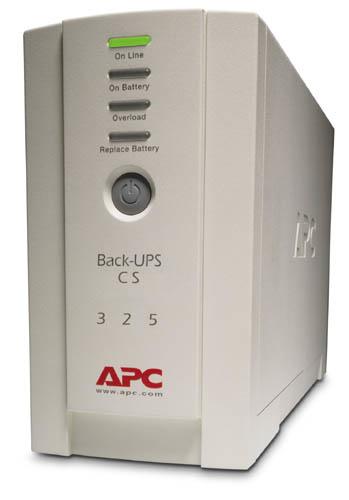 APC Back-UPS CS 325 w/o SW Unterbrechungsfreie Stromversorgung UPS 325 VA 210 W
