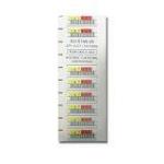 Quantum 3-05400-04 barcode label White