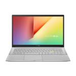 "ASUS VivoBook S15 S533FA-BQ001T notebook Silver,White 39.6 cm (15.6"") 1920 x 1080 pixels 10th gen Intel® Core™ i5 8 GB DDR4-SDRAM 512 GB SSD Wi-Fi 6 (802.11ax) Windows 10 Home"