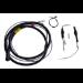Zebra CA1220 cable de transmisión Negro 1,8 m