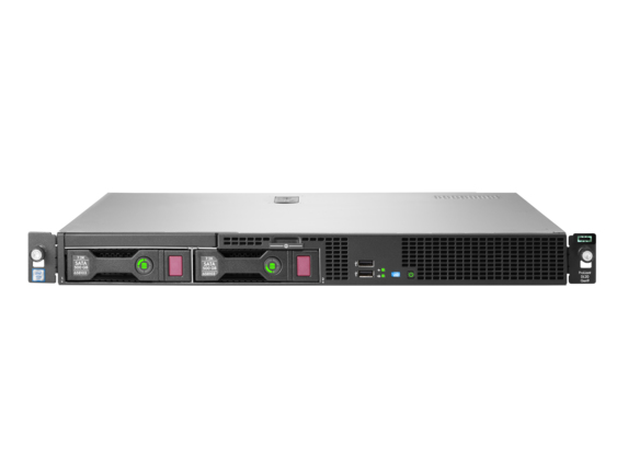 Hewlett Packard Enterprise ProLiant DL20 Gen9 server 3 GHz Intel® Xeon® E3 v6 E3-1220V6 Rack (1U) 290 W