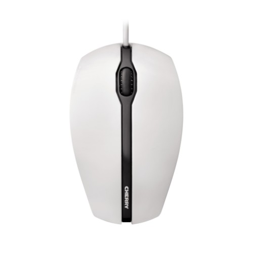 CHERRY GENTIX USB Optical 1000DPI Ambidextrous Black, Grey mice