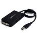 StarTech.com Adaptador de Vídeo Externo USB a DVI - Tarjeta Gráfica Externa - Cable Conversor - 1920x1200