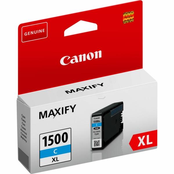 Canon 9193B001 (PGI-1500 XLC) Ink cartridge cyan, 1.02K pages, 12ml