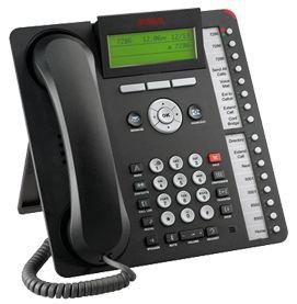 Avaya 1616-I Wired handset 16lines Black IP phone