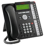 Avaya 1616-I Wired handset 16lines Black