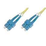 Digitus DK-2922-05 fibre optic cable 5 m SC Yellow