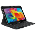 Logitech Ultrathin Bluetooth Black mobile device keyboard