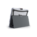 "Brenthaven 2800 tablet case 24.6 cm (9.7"") Folio Grey"