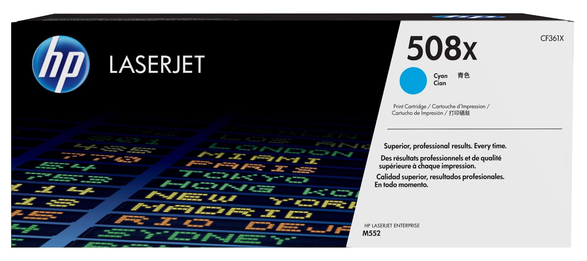 HP 508X Original Cian 1 pieza(s)