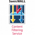 DELL SonicWALL Content Filtering Service Premium Business Edition for NSA 2400 (1 Year)