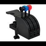 Logitech G G Saitek PRO Flight Throttle Quadrant Black USB 2.0 Fightstick Analogue PC