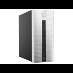 HP Pavilion 550-230na 3.7GHz i3-6100 Desktop Black,Silver