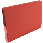 Guildhall L POCKET WALLET 14 X 10 RED