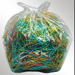 Dahle 20725 paper shredder accessory Bag 100 pcs