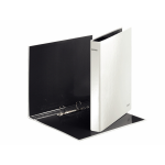 Leitz WOW - pearl white ring binder A4