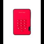 iStorage diskAshur 2 1000GB Red IS-DA2-256-SSD-1000-R