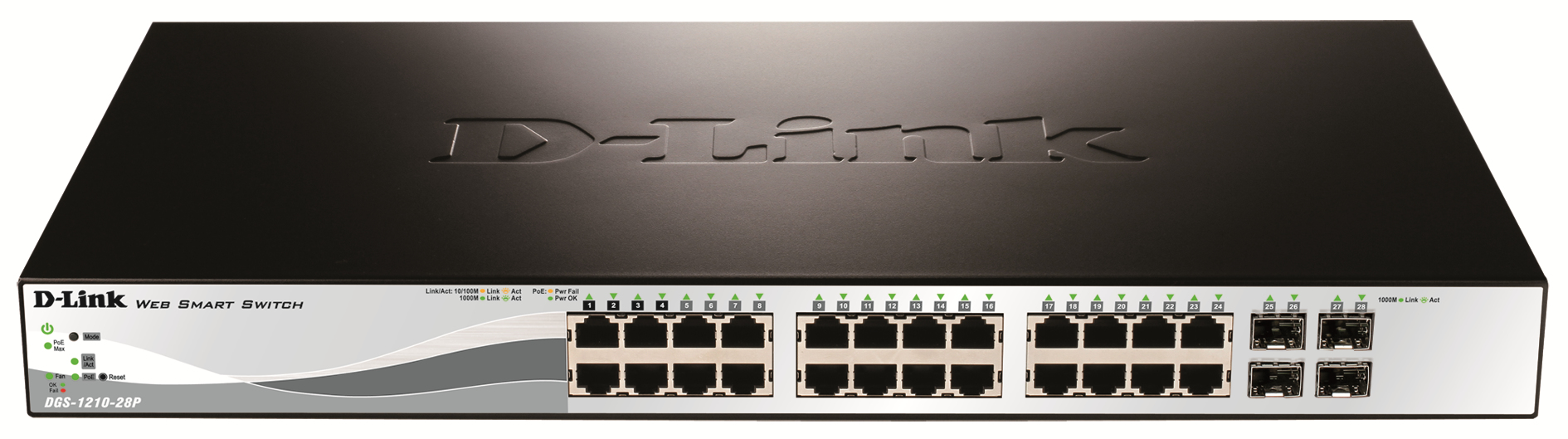 D-Link DGS-1210-28P network switch