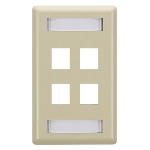 Black Box WPT472 wall plate/switch cover Ivory