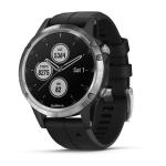 "Garmin fēnix 5 Plus smartwatch Silver 3.05 cm (1.2"") GPS (satellite)"