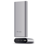ALOGIC USB-C 20100mAh Portable Power Bank with Dual Output - 2.4A & 3A - Space Grey - Prime Series