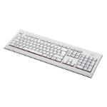 Fujitsu KB521 UK keyboard USB QWERTY English Grey