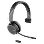 Plantronics Voyager 4210 UC mobile headset Monaural Head-band Black Wireless