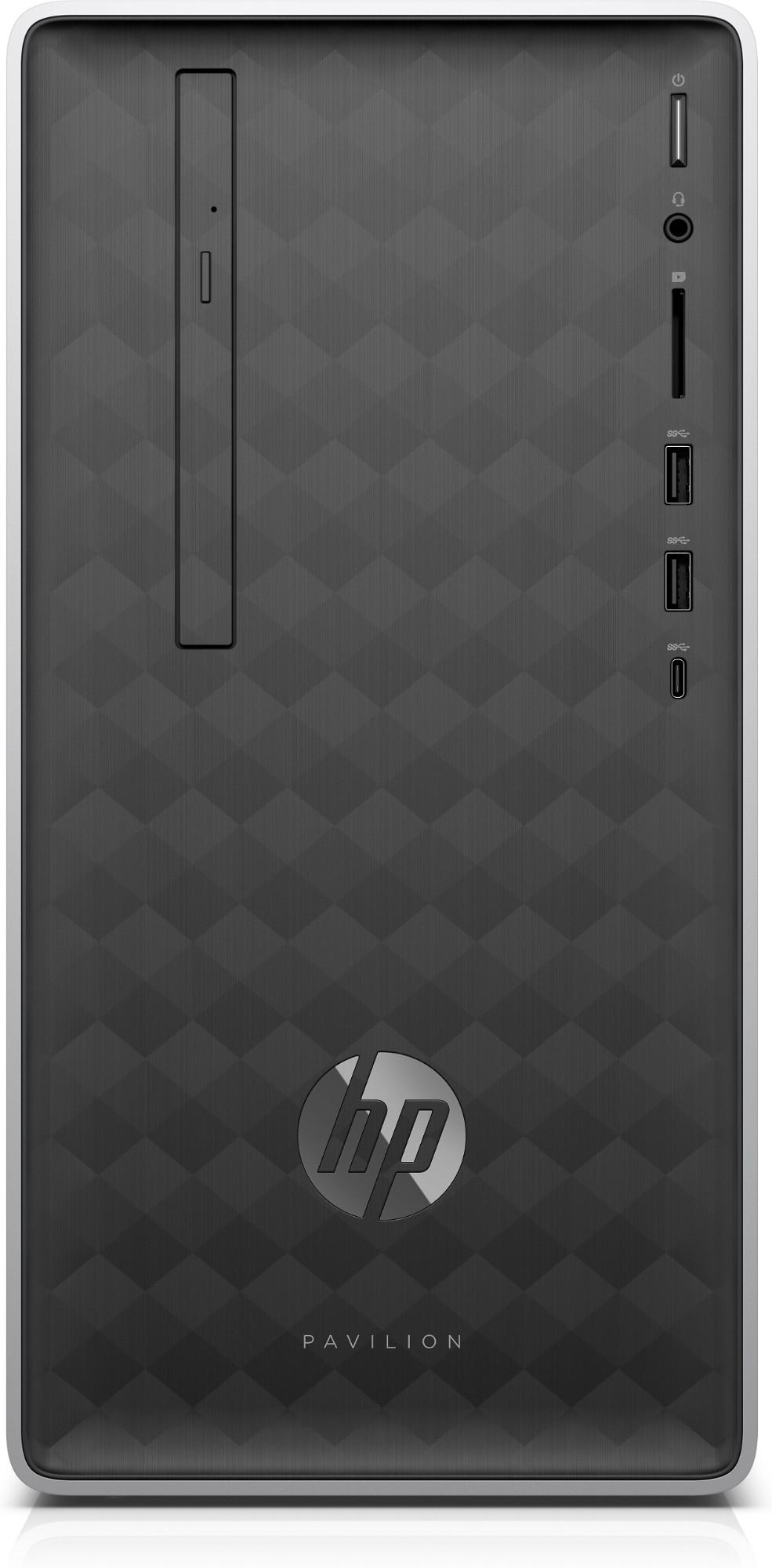HP Pavilion 590-a0020na Intel® Celeron® J4005 4 GB DDR4-SDRAM 1000 GB HDD Silver Mini Tower PC
