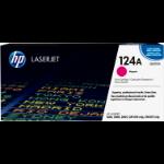 HP 124A Origineel Magenta 1 stuk(s)