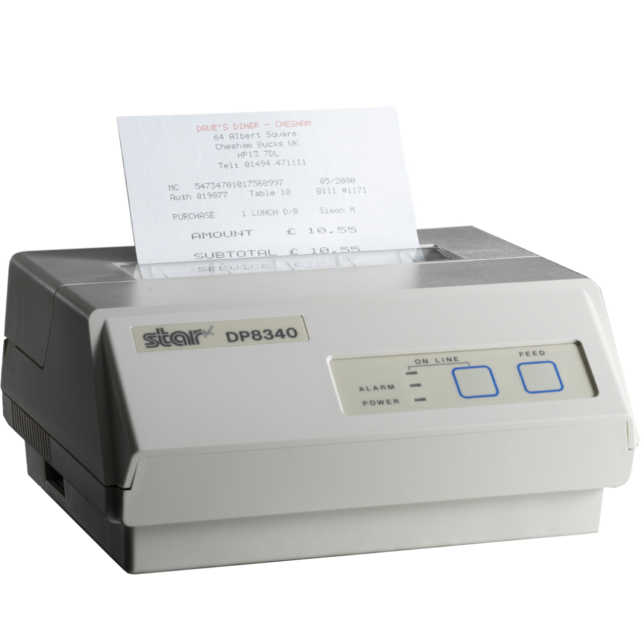Star Micronics DP8340SC dot matrix printer 406 x 203 DPI