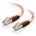 C2G 85501 cable de fibra optica 15 m OFNR LC Naranja