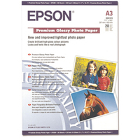 Premium Glossy Photo Paper A3 20-sheet (c13s041315)