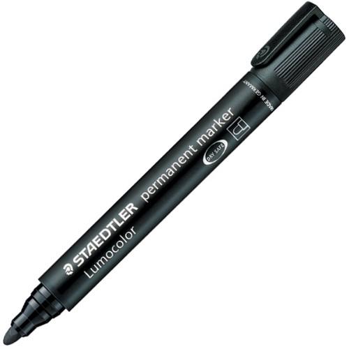Staedtler Lumocolor permanent marker Black Bullet tip 1 pc(s)