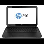HP 250 G2 F0Z00EA QuadCore N3510 4GB 500GB DVDRW 15.6TFT BT CAM Win 8.1