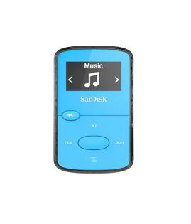 Sandisk SDMX26-008G-G46B MP3/MP4 player MP3 player Blue 8 GB