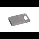Kingston Technology DataTraveler Micro 3.1 64GB 64GB USB 3.0 (3.1 Gen 1) USB Type-A connector Metallic USB flash drive