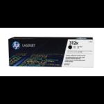 HP 312X high-capacity zwarte LaserJet tonercartridge