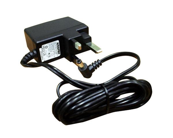 StarTech.com SV231USB & SV431USB British Power Adapter DC5V power cable Black