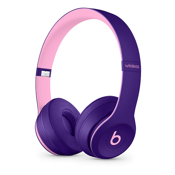 Apple Beats Solo3 mobile headset Binaural Head-band Pink,Violet Wired & Wireless