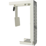 Newstar CPU-D100WHITE Desk-mounted CPU holder Wit CPU-houder