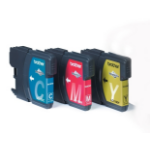 Brother LC-1100RBWBP Ink cartridge multi pack, 325 pages, Pack qty 3